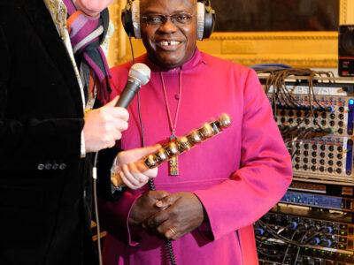 Archbishop of York, Dr. John Sentamu and BBC Radio 2's Chris Evans by Jonathan Pow.