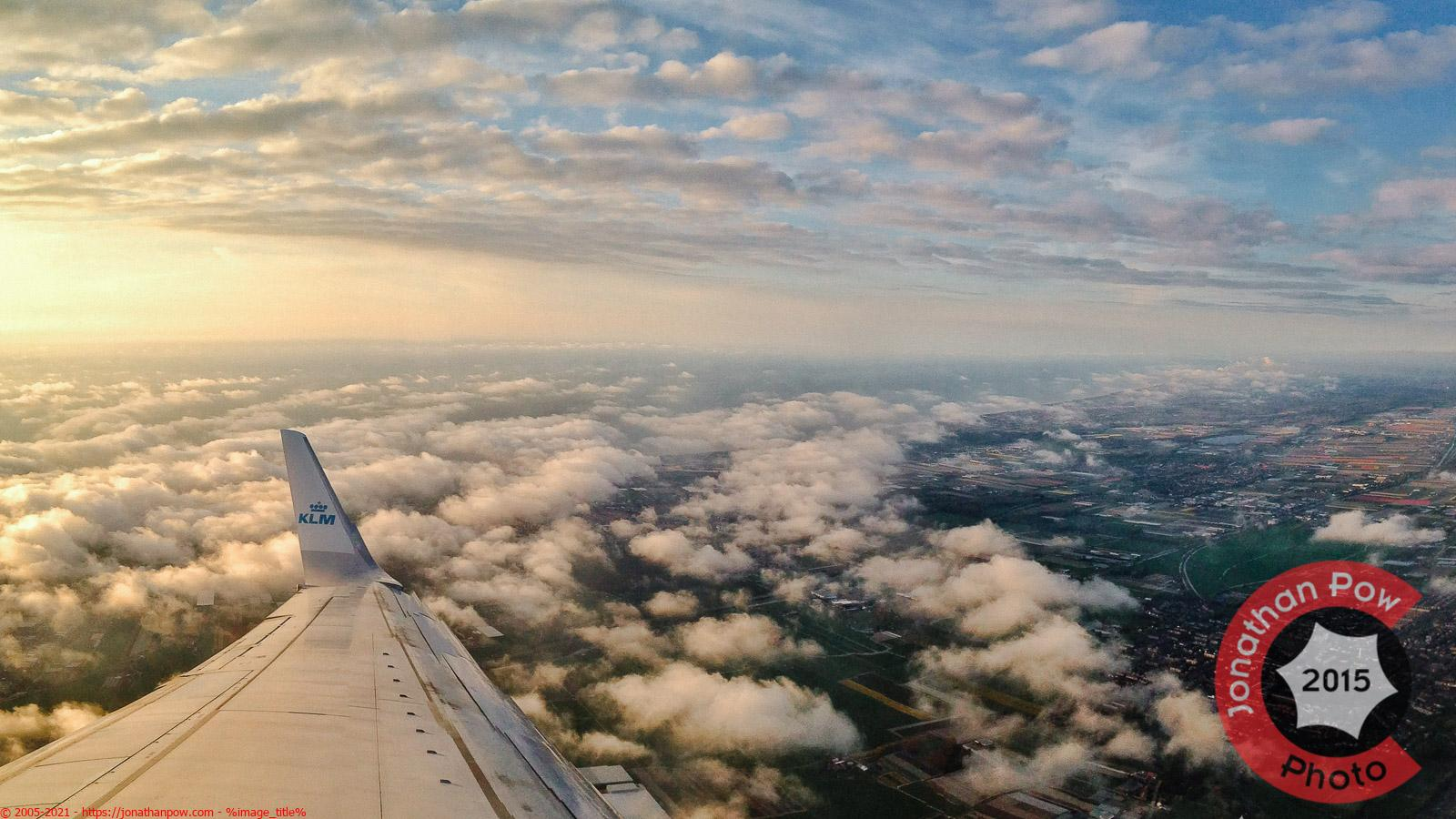 Manchester Photographer - Flying over Manchester Airport