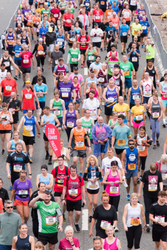 2109 Yorkshire Cancer Research: 40th Great North Run 2021